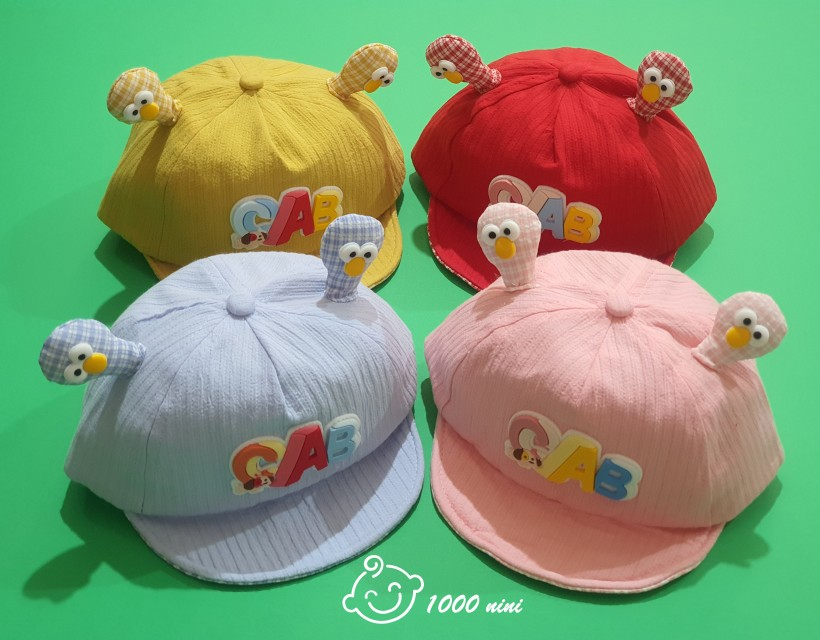 کلاه لبه دار طرح ABC