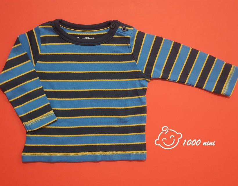 تی شرت آستین بلند راه راه نخی لوپیلو