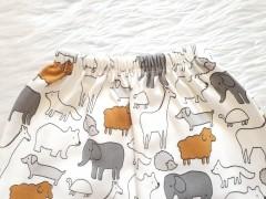شورت پادار طرح حیوانات