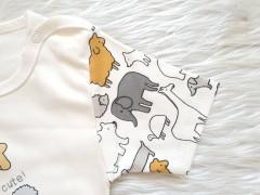 تی شرت آستین کوتاه طرح حیوانات لایت