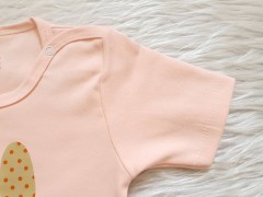 تی شرت آستین کوتاه طرح قلب خرگوش لایت