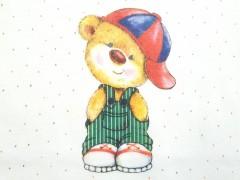 زیردکمه ای آستین بلند خرس کلاه دار لایت