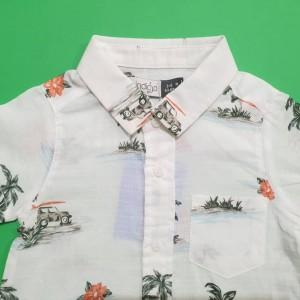 ست 2 تکه طرح هاوایی ایندیگو  19740