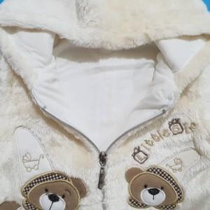 سرهمی پولیشی طرح خرس کوچولو مهتابیبی 3472