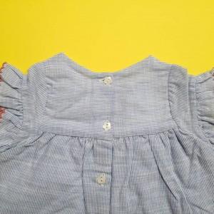 پیراهن دخترانه ایندیگو 19702