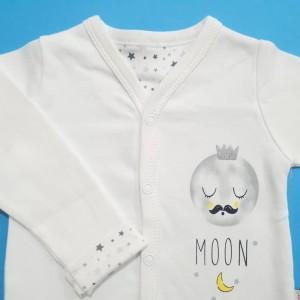 ست 3 تکه طرح ماه و ستاره برند مهتابیبی