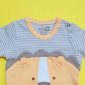 تی شرت آستین کوتاه شیر نیلی