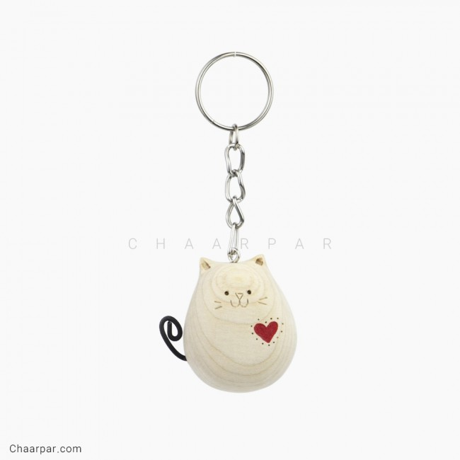 سر کلیدی گربه قلبی