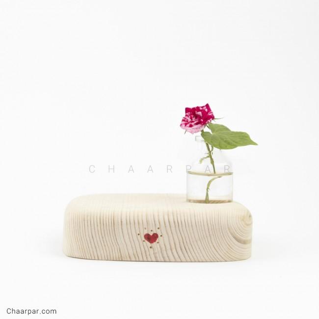 گلدان رومیزی خالی تکی
