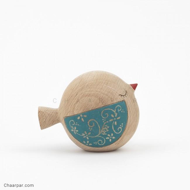 پرنده کپل بال رنگی (چشم بسته)
