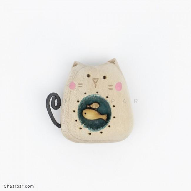 مگنت گربه ماهی به دل