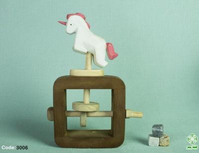 اسب تک شاخ مکانیکی