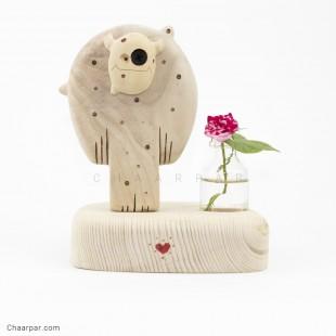 گلدان رو میزی دیو تکی
