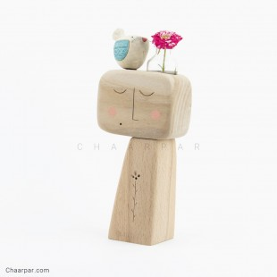 گلدان جوجه به سر