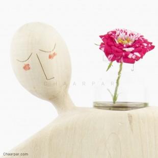 مجسمه نیایش گلدان دار