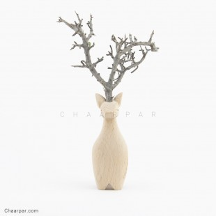 گوزن با شاخ طبیعی  | 2041