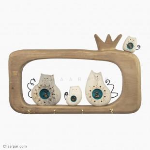 قاب انار 4 تایی گربه ماهی بدل  | 1122