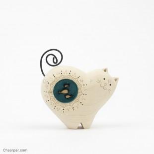 مجسمه گربه ماهی بدل