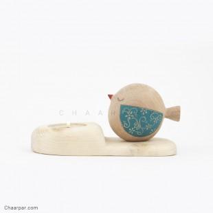 جاشمعی پرنده کپل بال رنگی (چشم بسته)