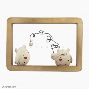 قاب دیو لاولی و موش