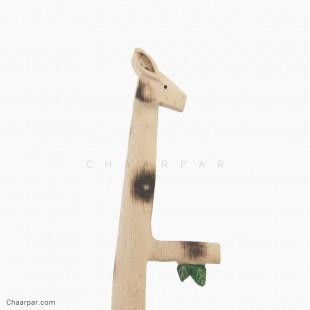 زرافه شاخه دار خالی بدون پرنده