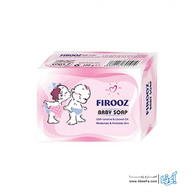 صابون بچه نارگیل فیروز حجم 100 گرم