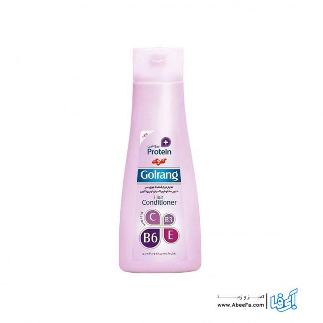 نرم کننده مو بنفش گلرنگ سری Plus Protein مقدار 880 گرم
