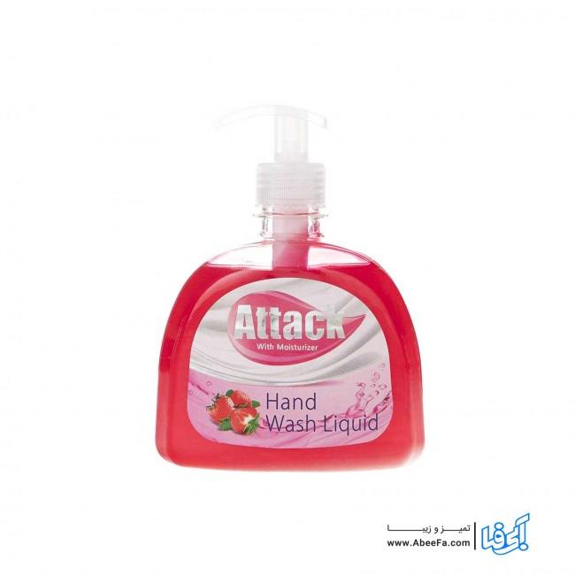 مایع دستشویی اتک مدل Strawberry حجم 500 میلی لیتر