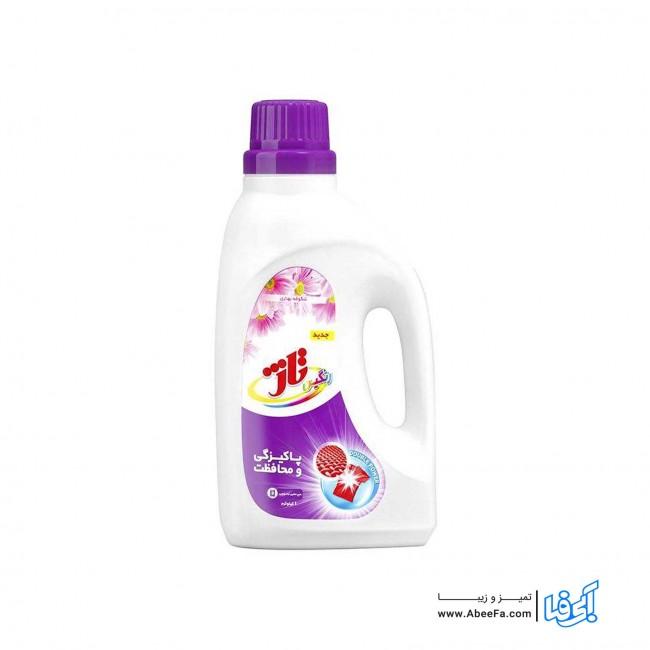 مایع لباسشویی رنگین تاژ مقدار 1000 گرم