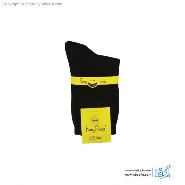 جوراب ساقدار فانی مدل 700 مشکی