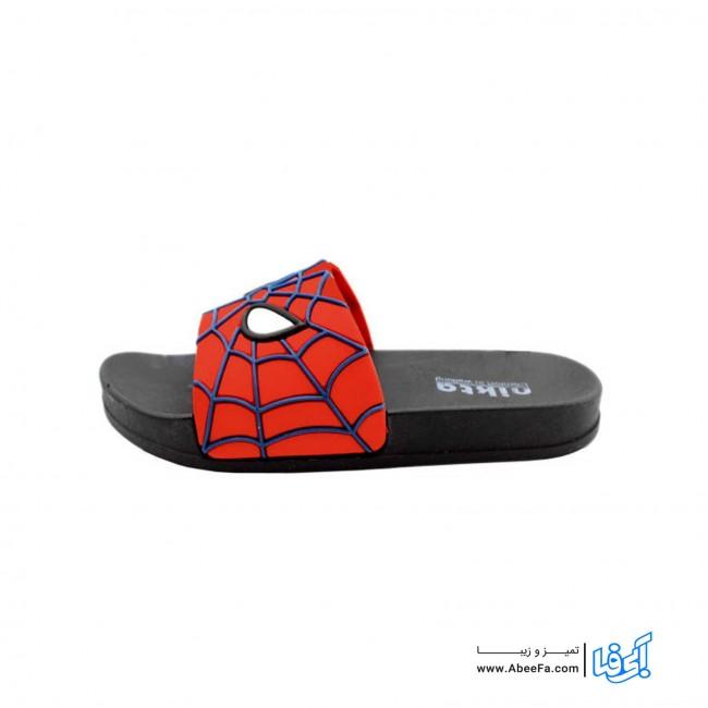 دمپایی پسرانه نیکتا مدل عنکبوتی کد 304 - L1