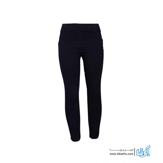 شلوار جین زنانه مدل RZ-GH12055-TLI-ME رنگ مشکی