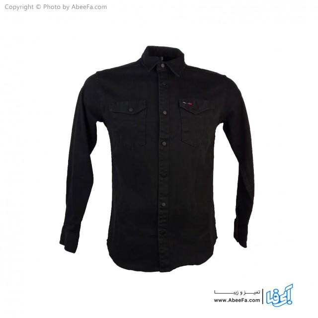 پیراهن جین مردانه مدل NW68B مشکی