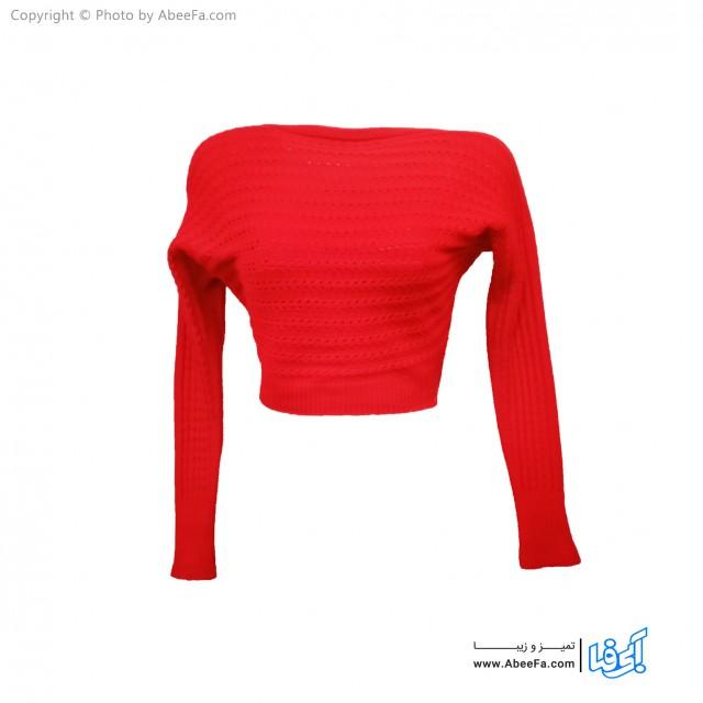 بلوز بافت زنانه مدل BB67R قرمز