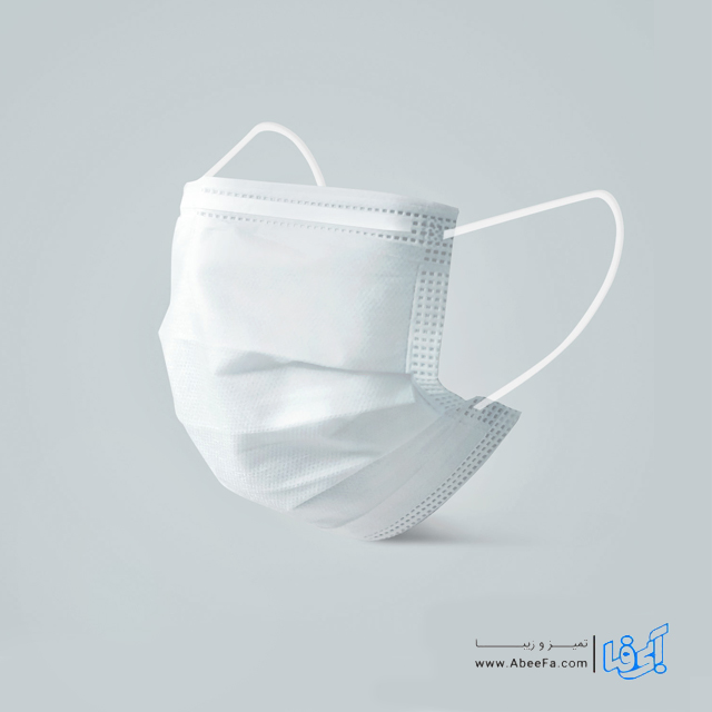 ماسک تنفسی سه لایه فیس ماسک بسته ۵۰ عددی