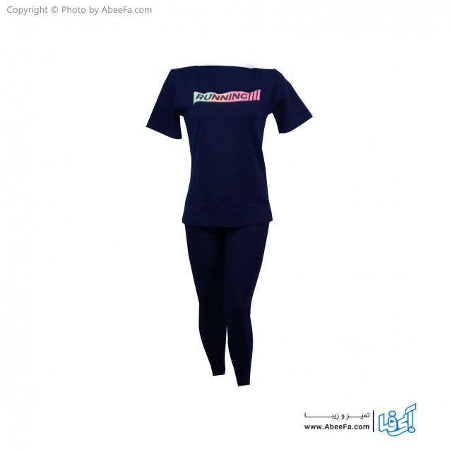ست تی شرت شلوار زنانه آسو مدل S371-S
