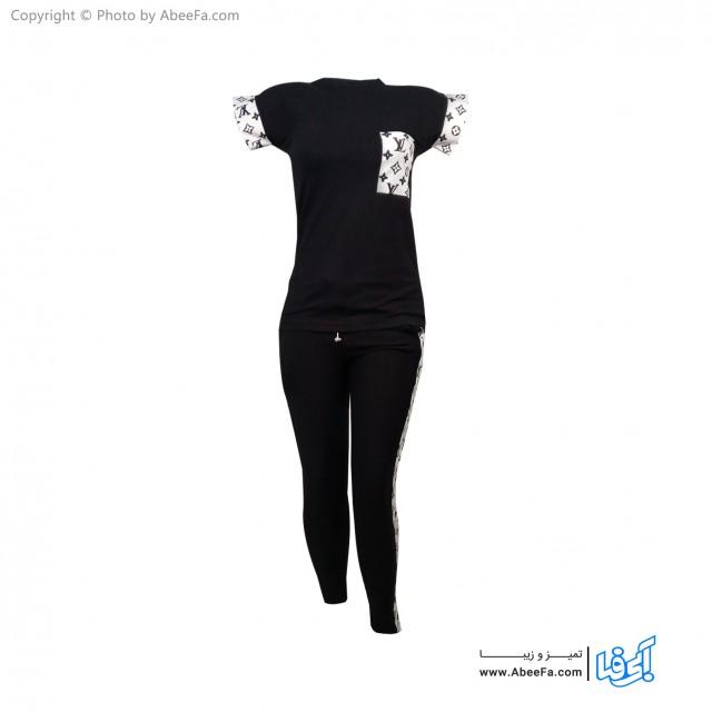 ست تی شرت شلوار زنانه آسو مدل S391