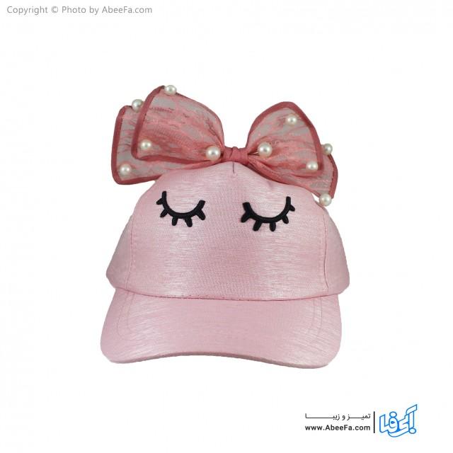 کلاه کپ دخترانه مدل HO089