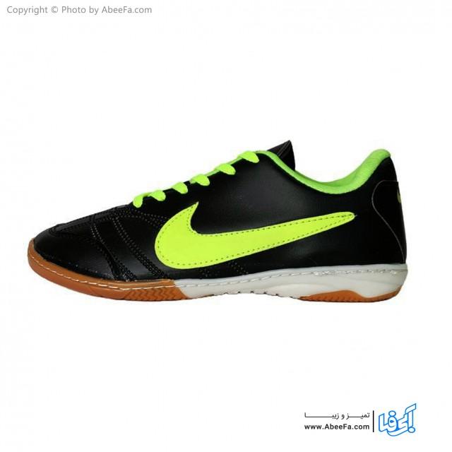 کفش فوتسال مردانه مدل Si-BKGn