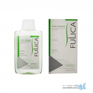 شامپو ملایم فولیکا مخصوص موهای حساس و شکننده حجم 200 میلی لیتر