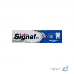 خمیر دندان سیگنال سری Cavity Fighter مدل Herbal Extract حجم 100 میلی لیتر