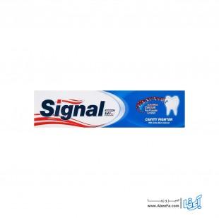خمیر دندان سیگنال سری Cavity Fighter مدل Active Micro-Calcium حجم 100 میلی لیتر
