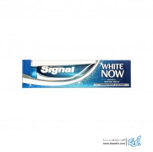 خمیر دندان سیگنال مدل White Now تیوب 75 میلی لیتر