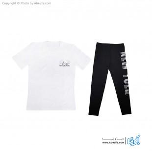 ست تی شرت شلوار زنانه آسو مدل S365