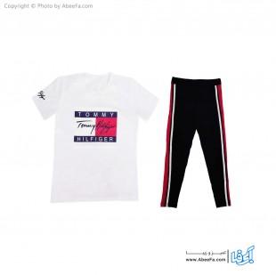 ست تی شرت شلوار زنانه آسو مدل S384-W