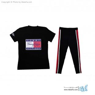 ست تی شرت شلوار زنانه آسو مدل S384-B