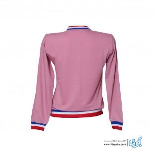 سویشرت زنانه طرح پلنگ صورتی کد MA-S.P-VA82025