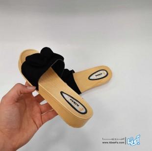 دمپایی زنانه نیکتا مدل L-010-Papioni-Bl