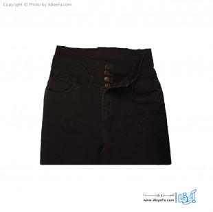 شلوار جین زنانه مدل Be30Z زغال سنگی