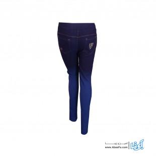 شلوار جین زنانه مدل NJ-MB82040-TLI-AB.S رنگ آبی